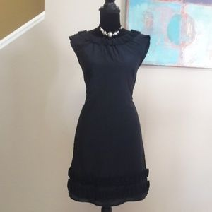 Ann Taylor Loft/ Navy/ Tie Back/ Shift Dress/ NWOT